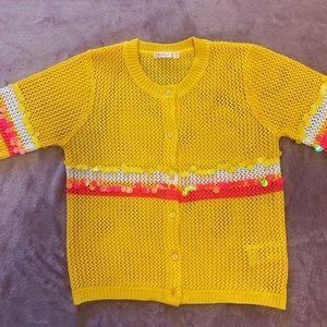 Billieblush yellow sweater
